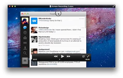 lions quicktime player screen recording improvements   sharing features macstories