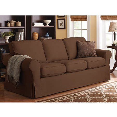 Loveseat Slipcovers Walmart by Better Homes And Gardens Slip Cover Sofa Colors