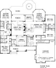 Of Images Gourmet Kitchen Floor Plans by House Plan The Sagecrest By Donald A Gardner Architects