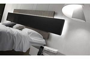 Lit Tv Intégré : lit design avec t te de lit ~ Teatrodelosmanantiales.com Idées de Décoration