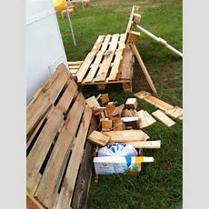 Pallet Camping Bench  Outdoor Pallet Furniture At Ohm2013