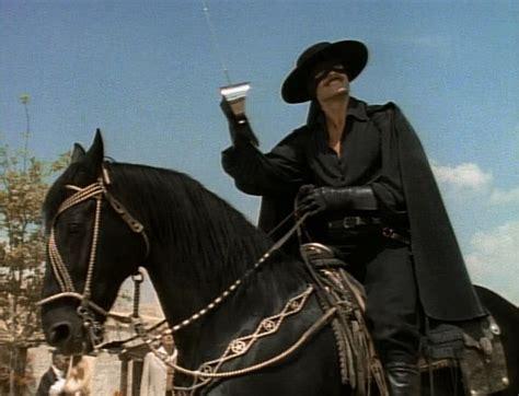 Zorro And His Horse Toronado