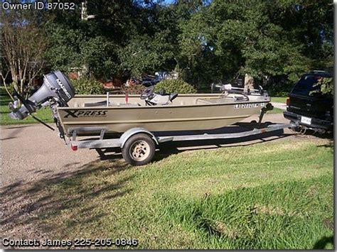 Express Flats Boats by 2004 Express Flatsboat Pontooncats