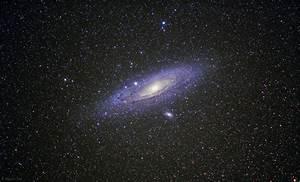 Andromeda Galaxy M31 with a Vixen Polarie ...
