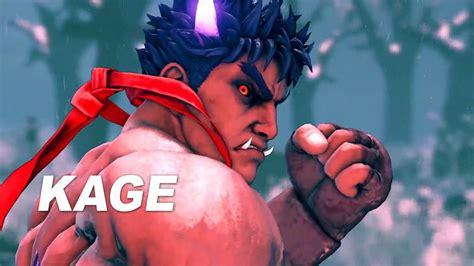Evil Ryu Arrives In Street Fighter V As Dlc Character