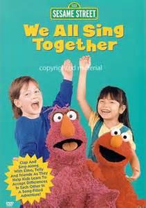 Sesame Street We All Sing Together