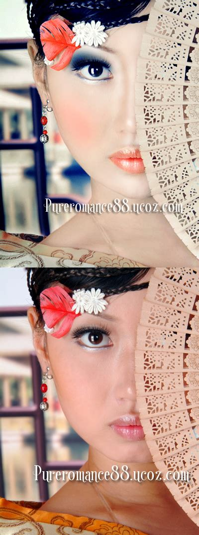 Give Your Ordinary Portrait Photo Glamorous Effect With