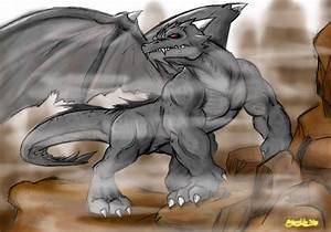 Dragon Werewolf Hybrid | www.pixshark.com - Images ...