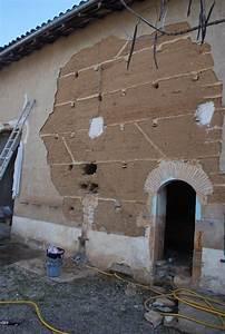 Mur En Pisé : chantier r alis ouverture dans un mur en pis ~ Melissatoandfro.com Idées de Décoration