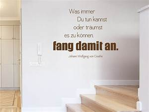 Kältebrücke Wand Was Tun : wandtattoo was immer du tun kannst wandtattoo zitat goethe ~ Michelbontemps.com Haus und Dekorationen