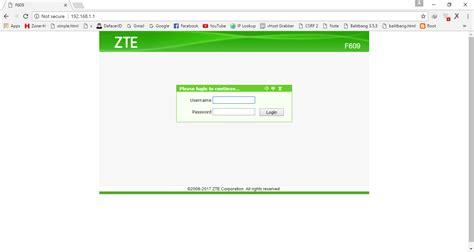 Caranya cukup mudah, tidak perlu download dan install jika. Zte F609 Default Password : Kumpulan Password Username Modem Zte F609 Indihome 2020 Terbaru Kaca ...