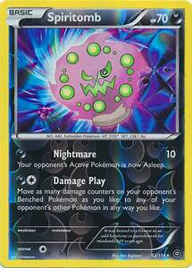 Spiritomb - 62/114 - Rare - Reverse Holo - Pokemon Card ...