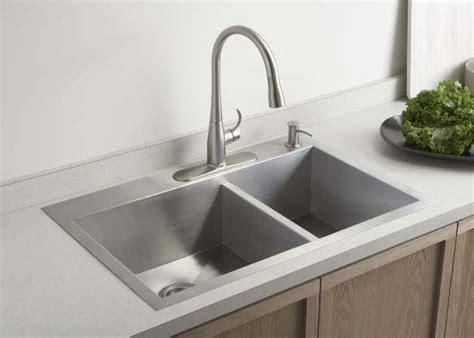 kohler vault kitchen sink kohler k 3823 1 na basin kitchen sink with one 6708