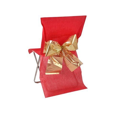 housse de chaise bicolore noeud m 233 tallis 233 housses de chaises pas cher drag 233 e d amour