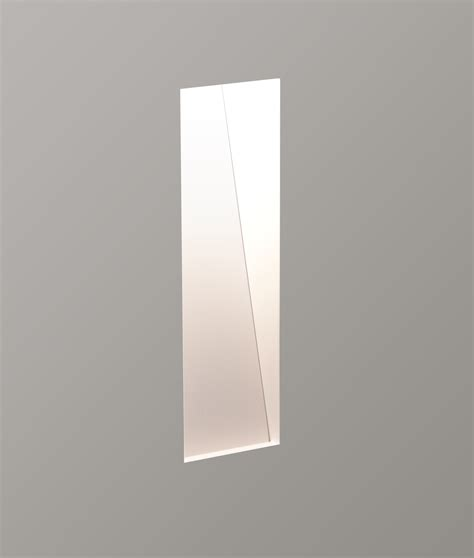 slot trimless plaster wall light