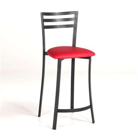 chaise de bar 4 pieds tabouret bar ou snack en métal 4 pieds tables chaises