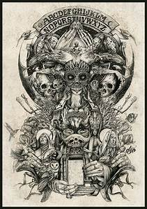 Ink, Bones and Stone… DZO Illustration | CVLT Nation