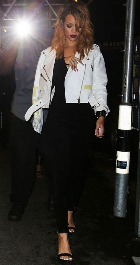 209 best images about Rihanna Style on Pinterest | Black maxi skirts White tops and Printed