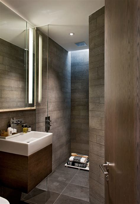baroque peel and stick vinyl tile in bathroom contemporary