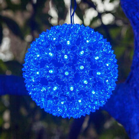 blue led starlight sphere