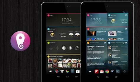 tablet launcher for android chameleon launcher is an adaptive and stylish homescreen