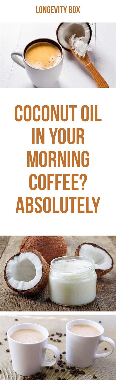 You probably know that coconut oil is very healthy. Coconut oil in your coffee | Coconut oil coffee, Coconut oil recipes, Coconut oil