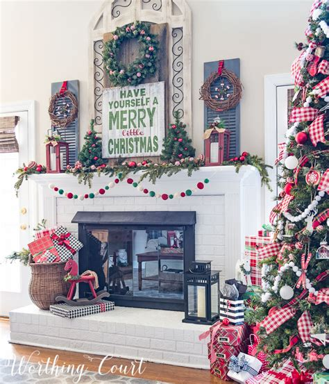 Christmas Mantels Around America   My Very Merry Farmhouse