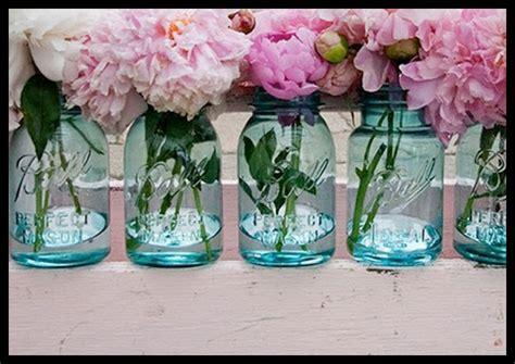 flowers in jars diy mason jar ideascure design group
