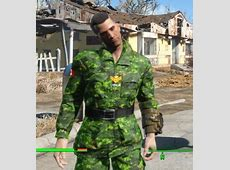 Canadian Armed Forces Uniform Fallout 4 Mod, Cheat FO4