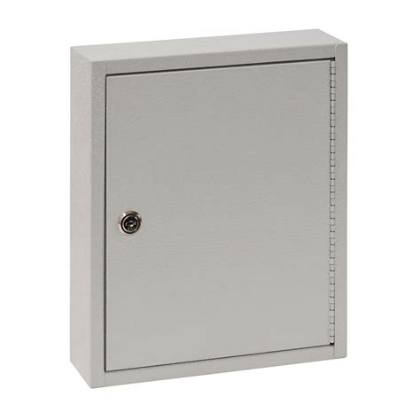 Key Cupboard by Buddy Products 28 Hook Key Cabinet 0128 32 The Home Depot
