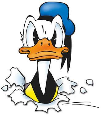 donald duck doet limburg aan