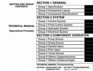 Hitachi Zx75us Technical Manual  U0026 Operation Principle