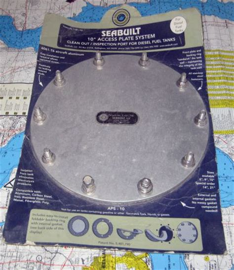 Boat Fuel Tank Inspection Port find seabuilt 10 quot access plate system inspection port for