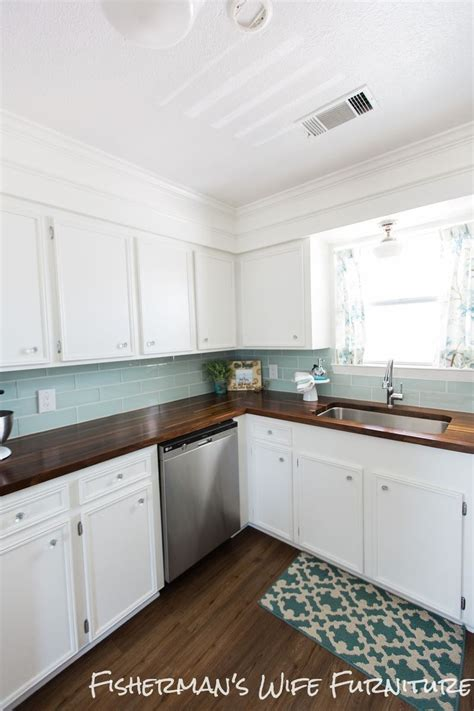 hometalk a diy kitchen makeover on a small budget diy coastal kitchen makeover hometalk