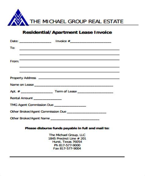 real estate invoice templates google docs google