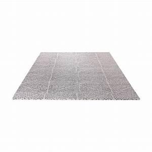 Tapis Blanc Et Gris : tapis madison blanc et gris esprit home 80x150 ~ Melissatoandfro.com Idées de Décoration
