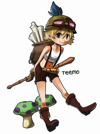 Teemo Legends Cosplay Deviantart League Female Lol