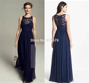 Aliexpress.com : Buy Lace Chiffon Bridesmaid Dresses Scoop ...
