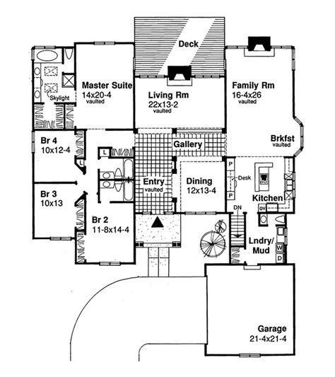 level house plans open floor plans one level homes single open floor