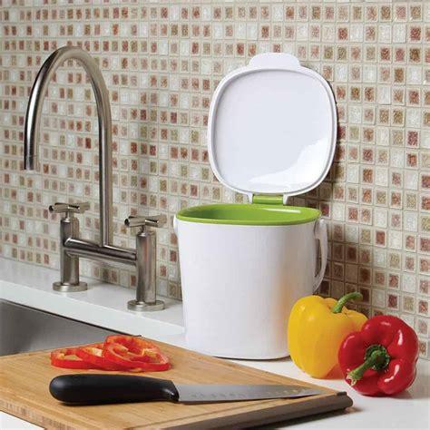 Vliestapete Für Die Küche by Top 8 Best Kitchen Compost Caddy Reviews For Kitchen