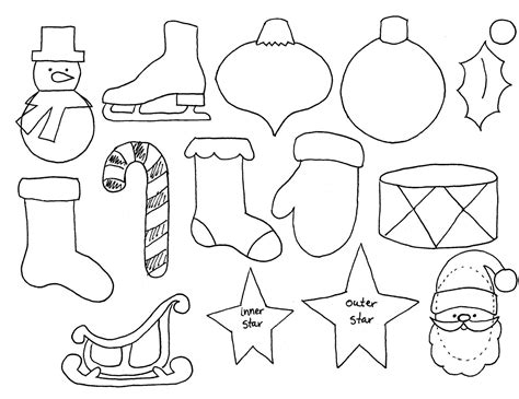 printable christmas ornaments for toddlers kwanzaa coloring pages