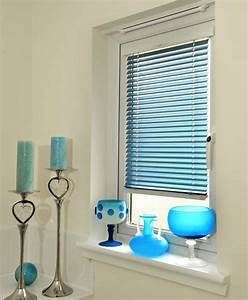 Blue Venetian Window Blinds Practical Venetian Window