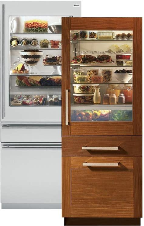 zikgnhii  fully integrated glass door refrigerator   cu ft capacity convertible