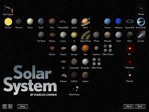 Planeten op je iPad