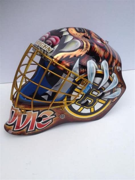 Tuukka Rask Orders Matching Mask For 9-Year-Old Maddie ...