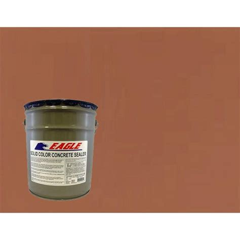 eagle 5 gal naturally solid color solvent based