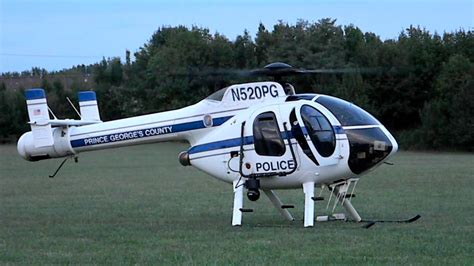 PGPD MD520N NOTAR (N520PG) Start and Takeoff - YouTube