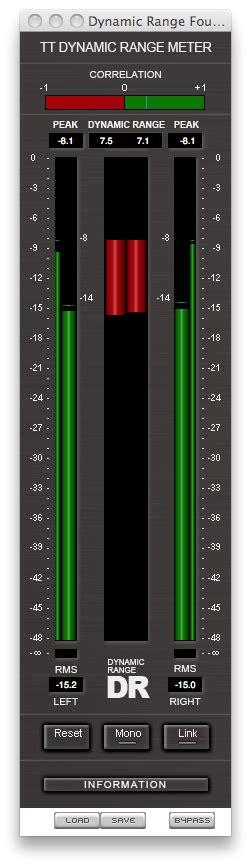 tt dynamic range meter in celebration of dynamic range recording hacks