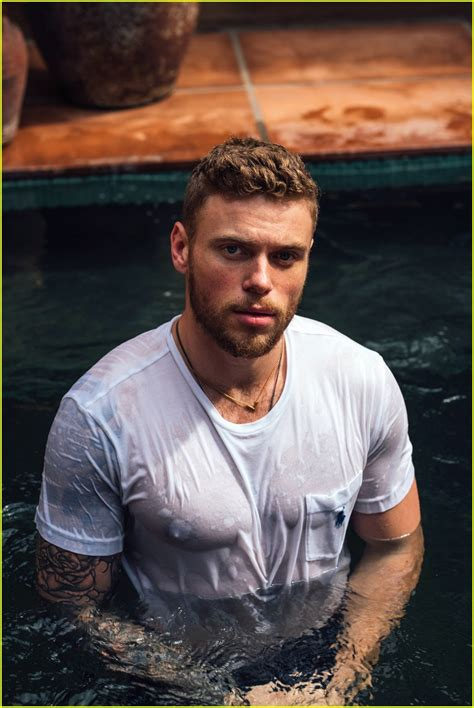 Gus Kenworthy Strips Down To His Underwear Bares His