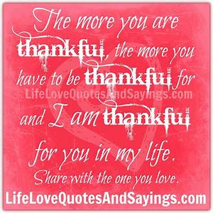 Thankful Quotes And Sayings. QuotesGram